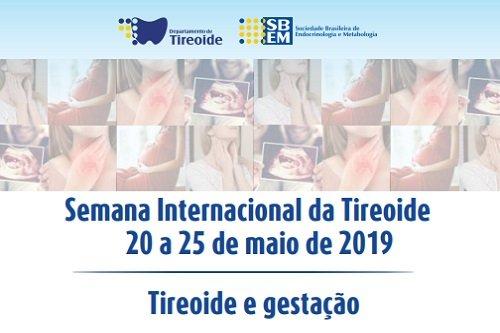 25 de Maio, Dia Internacional da Tireoide