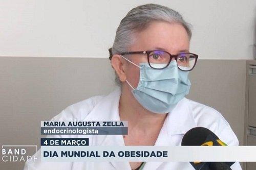 Dra. Maria Augusta K. Zella, em entrevista à TV Band